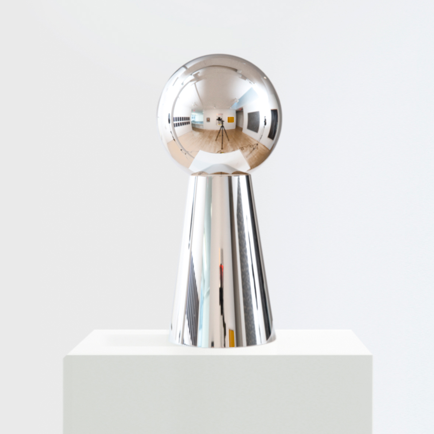 Iran do Espírito Santo                                         'Untitled (Keyhole)', 2004                                         17.5 x 7.9 x 7.9 Inches                                         stainless steel
