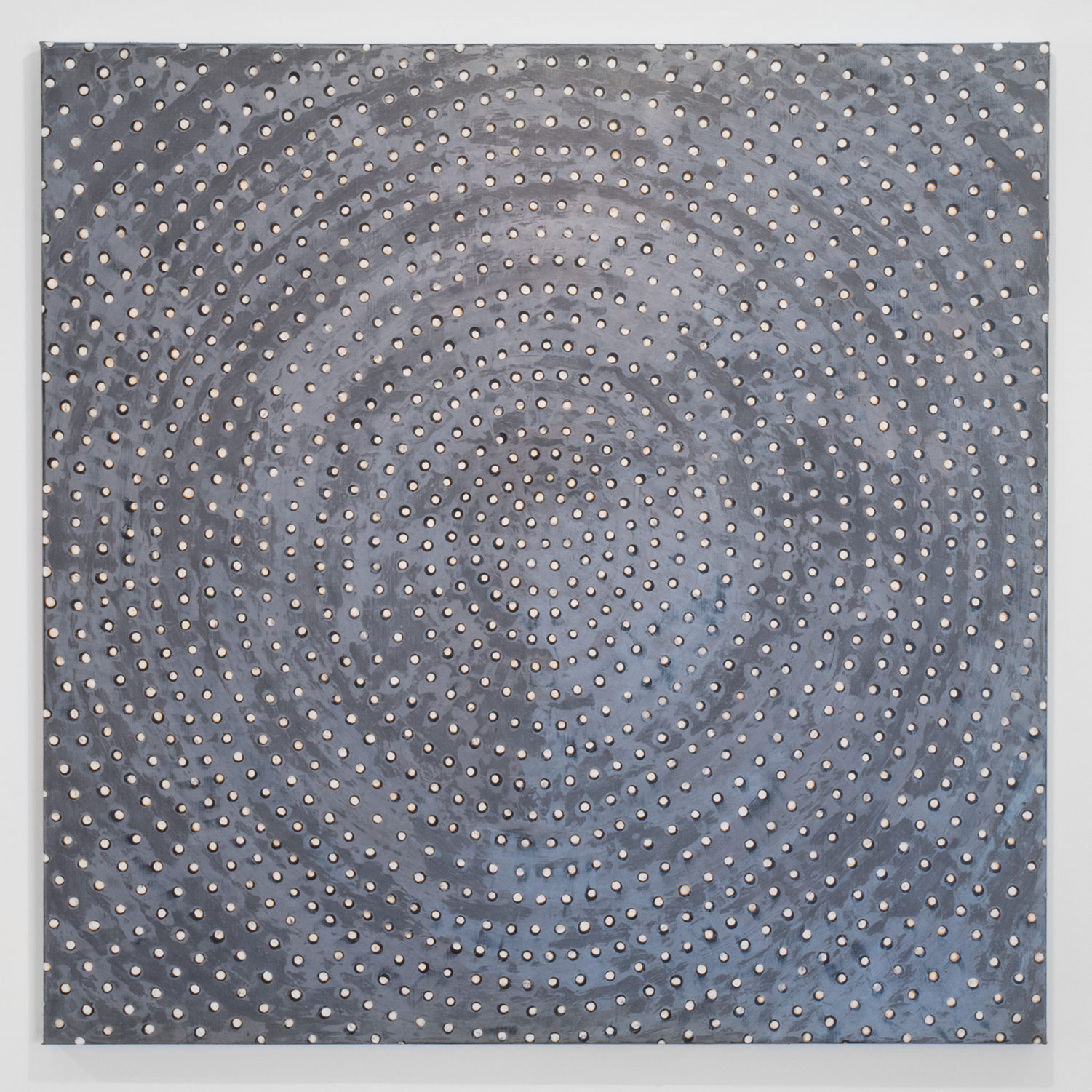 Ross Bleckner                                         'Untitled', 2014                                         60 x 60 Inches                                         oil on linen