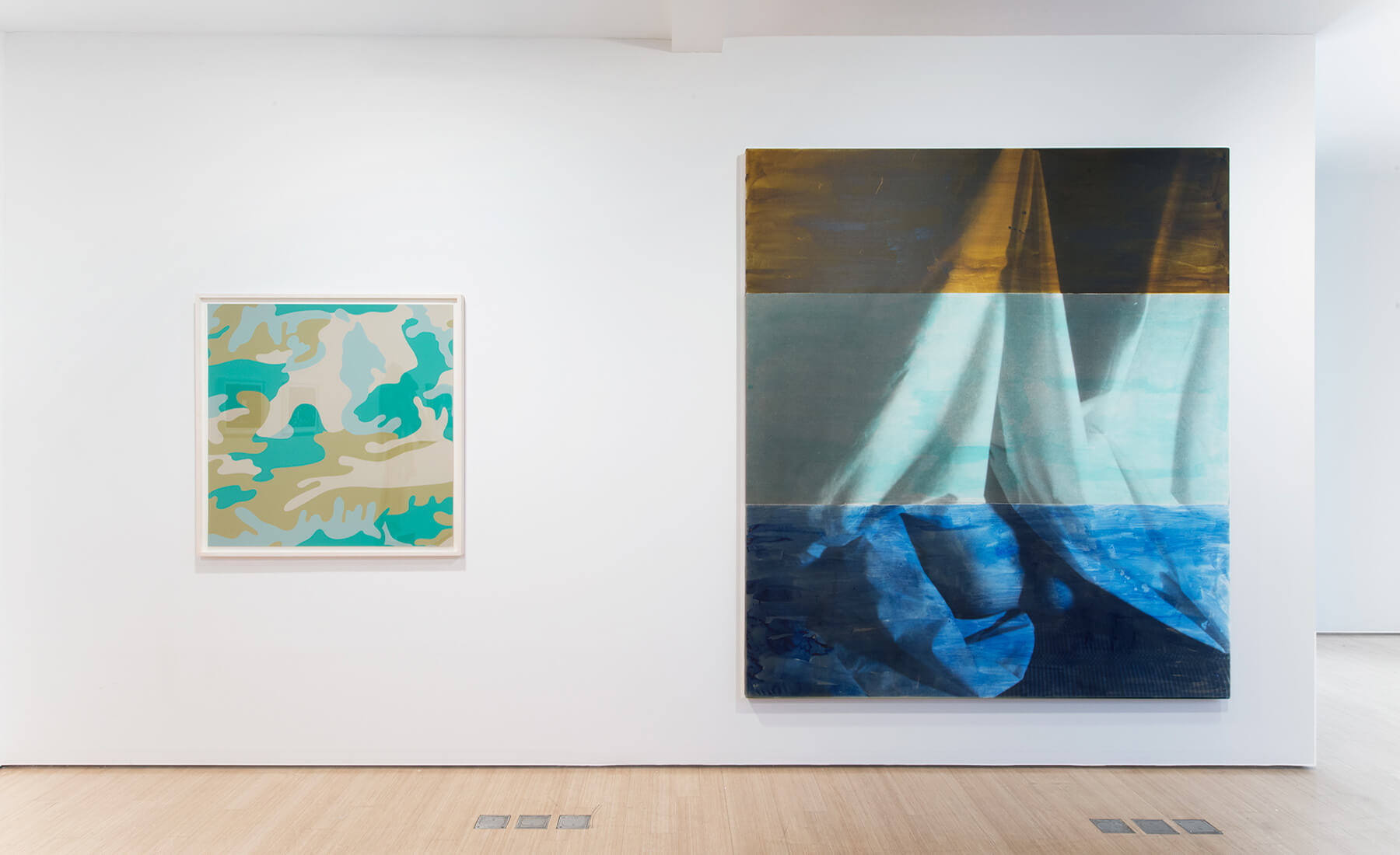 Installation Sgorbati Projects, January 2016                                        BODY SUPERFICIAL                                       Artists Pictured: Andy Warhol, David Salle