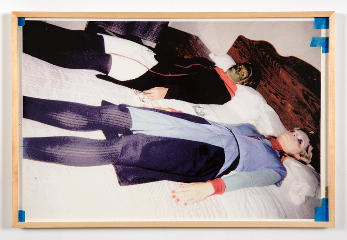 Susan Cianciolo                                         'Untitled (Utopian Art Festival, Hotel 17)', 1996                                         21 1/2 x 32 Inches                                         inkjet on paper                                         Unique